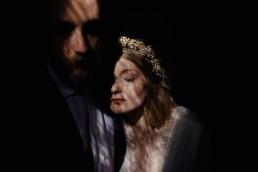 Couronne de fleurs de l'atelier Lilas Wood fleuriste mariage à lyon en Rhône alpes - Photographie Rock my world photography