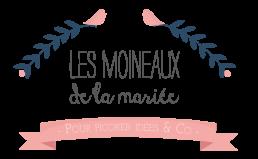 Logo Les Moineaux de la mariée - Atelier Lilas Wood - fleuriste mariage à lyon