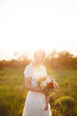 Bouquet de la mariée de l'atelier Lilas Wood fleuriste mariage à lyon en Rhône alpes