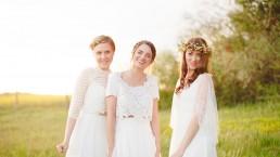Couronne de fleurs de l'atelier Lilas Wood fleuriste mariage à lyon en Rhône alpes