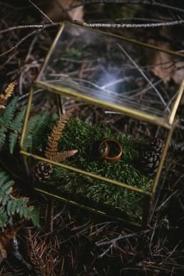 Boite à alliances - Lilas Wood fleuriste mariage Clermont-Ferrand en Auvergne - Photographie Zéphyr et Luna