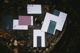 Invitation et faire part Les petits Papiers - Lilas Wood fleuriste mariage Clermont-Ferrand en Auvergne - Photographie Zéphyr et Luna
