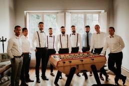 Le marié, témoins et garçons d'honneur - LILAS WOOD - Fleuriste Mariage Dijon & Bourgogne.
