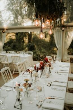 Décoration florale confectionnée par LILAS WOOD - Fleuriste Mariage Dijon & Bourgogne.