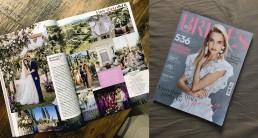 Lilas Wood publié dans Brides Magazine