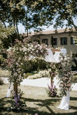 Houppa au Clos saint Estève en Provence